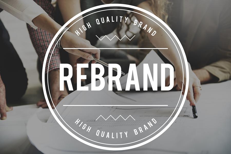 Rebrand Change Identity Branding Style Image Concept